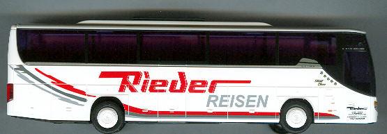 AWM Setra S 415 GT-HD Rieder-Reisen, Weikertschlag (A)