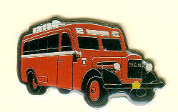 Krawatten-Nadel MAN Z 1 -                Baujahr 1936