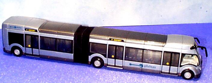 Lion-Toys  Phileas-Bus 3-achs. L:ca. 35 cm