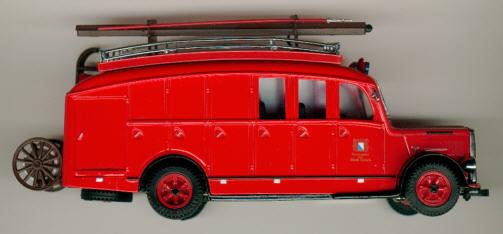 TEK Saurer 3CT1D-Bus Feuerwehr Zürich
