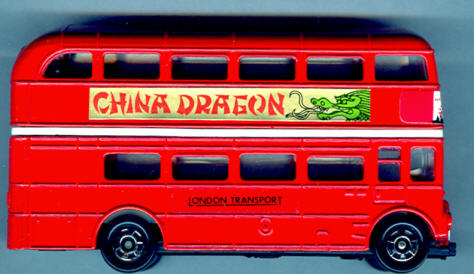 Tomica Routemaster DD-Bus China Dragon