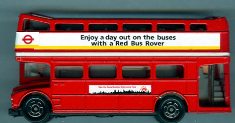 Tomica RM London-Bus Sightseeing-Tours