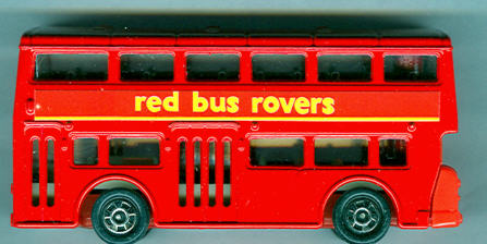 Tomica London DD-Bus red bus rovers