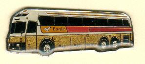 Krawatten-Nadel Kässbohrer Golden EAGLE