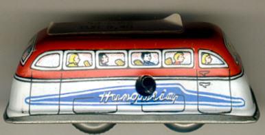 Blech Omnibus für Spurbahn Hungaria (m.Schlüssel)
