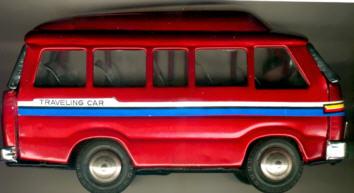 Blech Omnibus-Reisemobil Traveling Car
