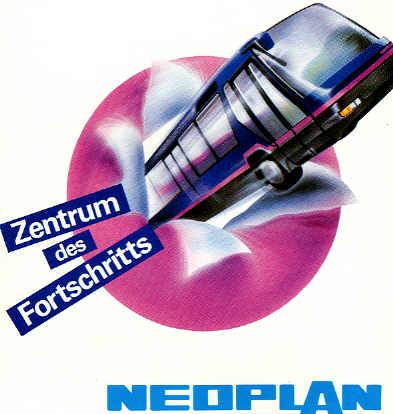 Aufkleber Neoplan-Metroliner
