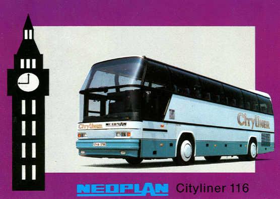 Postkarten Neoplan-Cityliner 116