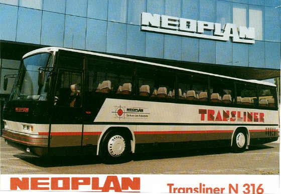 Postkarten Neoplan-Transliner N 316
