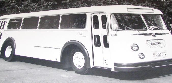 Büssing-Trambus TU5 1958