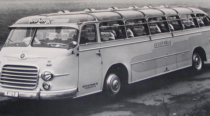 Setra S 10 von 1956 Großfoto