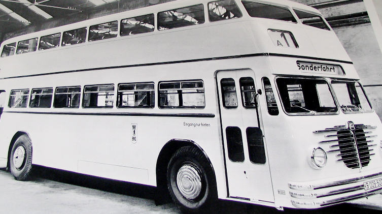 Büssing / O&K Doppeldecker-Omnibus 1951
