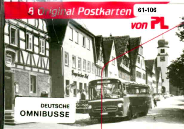 Postkarten Deutsche Omnibusse