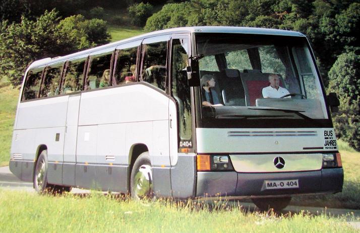 Mercedes-Benz O 404 BUS DES JAHRES 1992