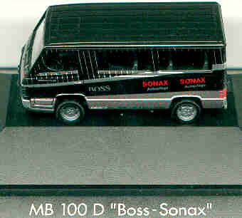 Herpa Mercedes Benz MB  100 Bus / PC Boss-Sonax