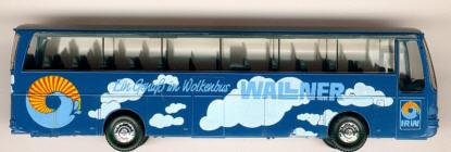 Herpa Setra S 215 HD WALLNER-Wolkenbus A-Sonderm