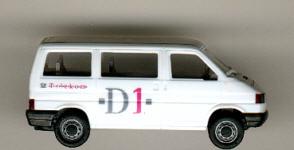 Herpa VW-Bus Caravelle Telekom  - D1