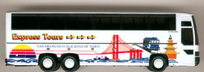 Herpa Setra S 215 HDH Express Tours