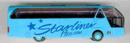 Rietze Neoplan-Starliner Neoplan-Werbemodell Hessen