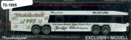 Rietze Neoplan-Megaliner Weihnachten 1995/OMS RR