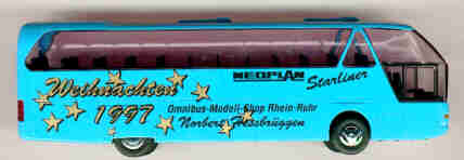 Rietze Neoplan-Starliner Weihnachten 1997/OMS RR