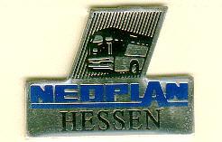 Schlüssel-Anhänger NEOPLAN-HESSEN LOGO
