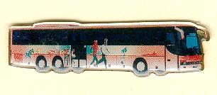 Schlüssel-Anhänger Setra S 319 UL IAA 1998