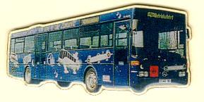 Schlüssel-Anhänger Mercedes Benz MB O 407 Autobus Sachsen