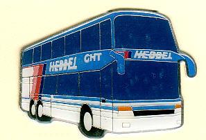 Krawatten-Nadel Setra S 328 DT Hebbel-Reisen