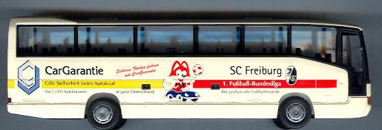 Rietze Mercedes Benz MB O 404 SC Freiburg -Fußballbus-