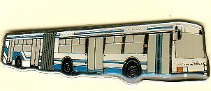 Schlüssel-Anhänger Ikarus 417 -  Gelenkbus