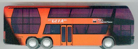 Rietze Neoplan-Skyliner GEFA-Bus 2006