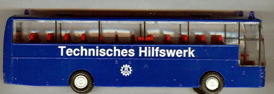 Limo Cars Van Hool T 815 Acron Technisches Hilfswerk