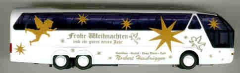 AWM Neoplan-Starliner - 3-achs. Weihnachten 2001