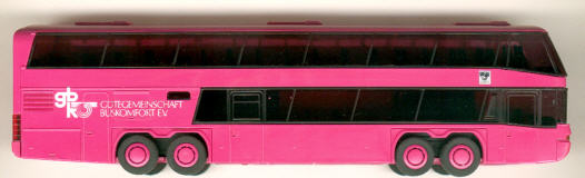 Rietze Neoplan-Megaliner Gütegem.Buskomfort eV. gbk