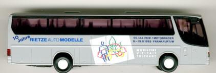 Rietze Setra S 315 HD 55.IAA '93 -  10 J.Rietze-Mod.