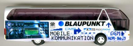 Rietze Neoplan-Starliner Blaupunkt       Werbemodell