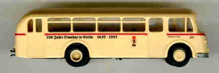 BEKA IFA H6B - Stadtbus 150 Jahre Omnibus in Berlin/BVG