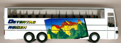Herpa Setra S 215 HDH Ostertag