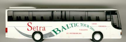 Rietze Setra S 315 GT-HD SETRA Baltic-Tour 2000