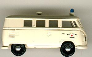 Brekina VW-Bus DRK Präsidium