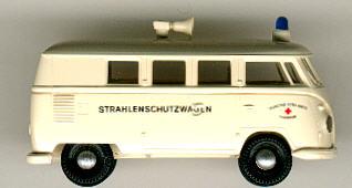 Brekina VW-Bus DRK-Strahlenschutzwagen