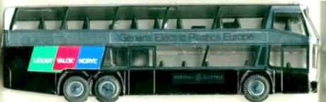 Kunststoff Neoplan-Skyliner GENERAL ELEKTRIK