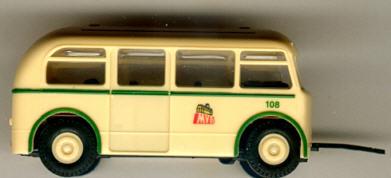 BEKA Bus-Anhänger W701 Magdeburg              MVB
