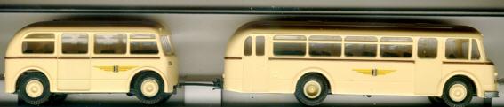 BEKA IFA H6B - Stadtbus Dresden      mit Anhänger!!!