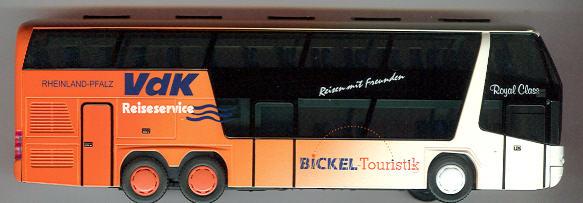 Rietze Neoplan-Skyliner 2006 Bickel-Touristik/VdK-Reiseservice