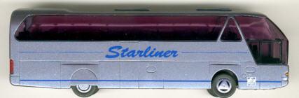 Rietze Neoplan-Starliner Neoplan-Werbemodell '99