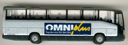 Rietze Mercedes Benz MB  O 404 RHD OMNIplus       Werbemodell