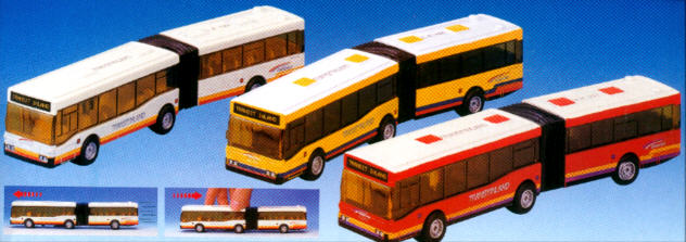 Dickie Citybus Gelenkbus Transitland -
