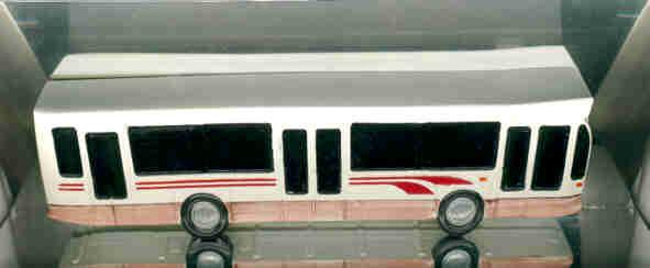 LIMOCAR Kunststoff DAF-Bus (1/2 Modell) Hainje